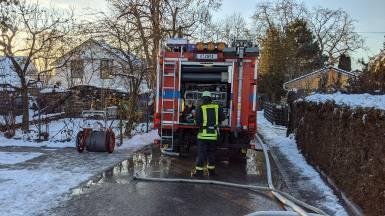 Brand Wohnhaus - Februar 2021