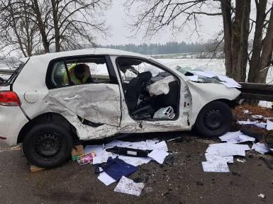Verkehrsunfall - Dezember 2020