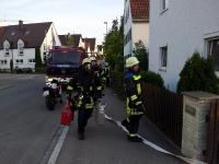 Dachstuhlbrand - Juli 2013